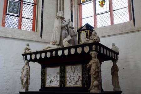 duke: Grave Duke Christopher of Mecklenburg in Schwerin Cathedral, Schwerin, Mecklenburg-Vorpommern, Germany