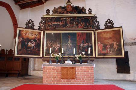 mecklenburg  western pomerania: Holy Spirit Church, Wismar, Mecklenburg-Vorpommern, Germany