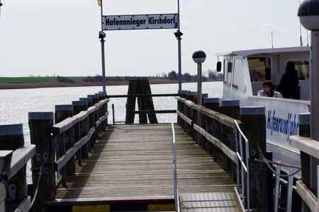 impressions: Harbor impressions in Kirchdorf Poel Mecklenburg Vorpommern Germany