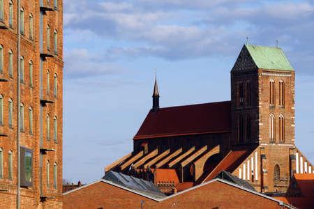 listed buildings: Nikolaikirche Wismar Mecklenburg Vorpommern Germany