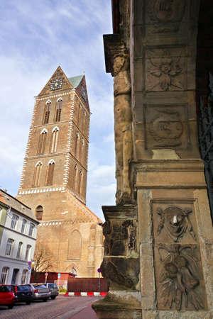 mecklenburg  western pomerania: Fuerstenhof today Local Court Wismar Mecklenburg Vorpommern Germany