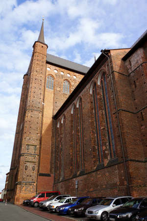 glaube: Saint George Church Wismar Mecklenburg Vorpommern Germany Editorial
