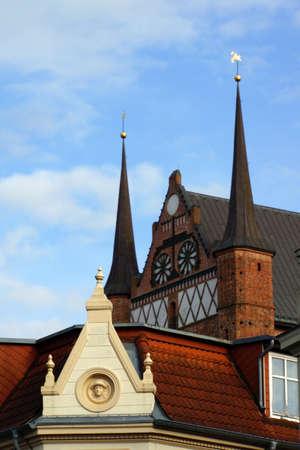 glaube: Saint George Church Wismar Mecklenburg Vorpommern Germany Stock Photo