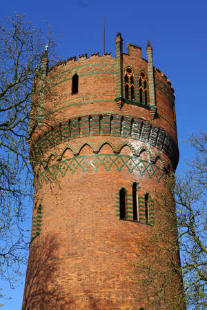 mecklenburg: Water Tower earlier part of the fortification Wismar Mecklenburg Vorpommern Germany