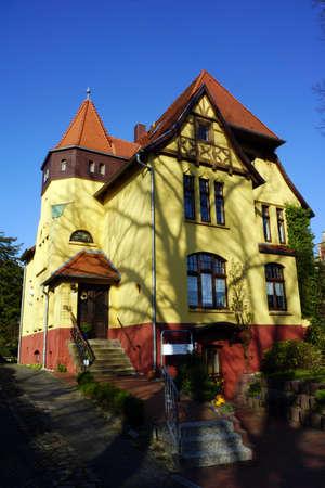 Vorstadtvilla, Wismar, Mecklenburg-Vorpommern, Deutschland