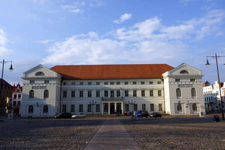 mecklenburg  western pomerania: Town Hall Wismar Mecklenburg Vorpommern Germany