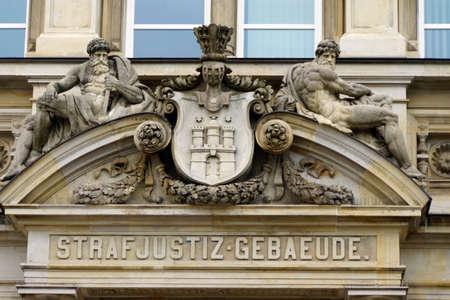Strafjustizgebude the Office and Landgericht Hamburg Germany