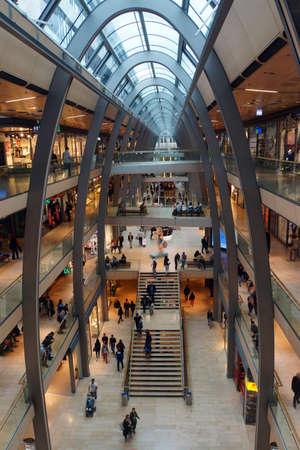 Mall Europa Passage Hamburg Germany