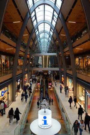 passage: Mall Europa Passage Hamburg Germany