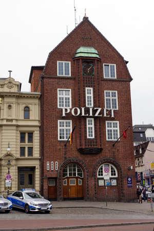 reeperbahn: Davidwache Sankt Pauli Hamburg Germany Editorial
