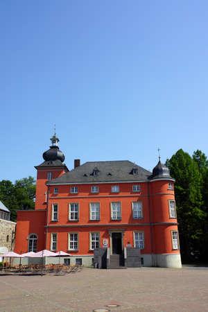 north rhine westphalia: Bilderbuchmuseum in Burg Wissem, Troisdorf, Nordrhein-Westfalen, Deutschland