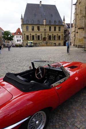 e market: Historic City Hall, Osnabrck, Lower Saxony, Germany