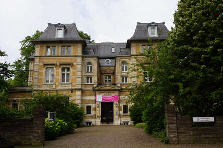 Museum Villa Zanders mit Stdtischer Gallery, Bergisch Gladbach, Nordrhein-Westfalen, Deutschland Editorial