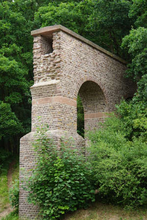 north rhine westphalia: Of Roman Aqudukt, Mechernich-Vussem, North Rhine-Westphalia, Germany Stock Photo