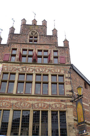 Gothic Brgerhaus, Xanten, North Rhine-Westphalia, Germany