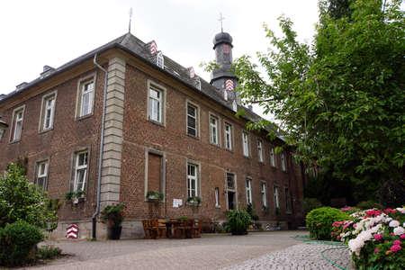 north  rhine westphalia: Nikolauskloster, Jchen, North Rhine-Westphalia, Germany Stock Photo