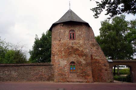 westfalen: Rundturm am Nordwall, Xanten, Nordrhein am Westfalen, Deutschland