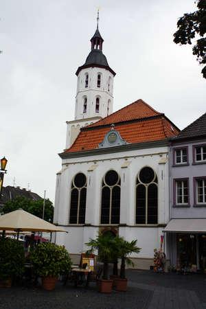 north  rhine westphalia: evangelische Kirche, Xanten, Nordrhein-Westfalen, Deutschland