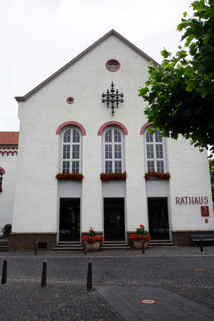 Town Hall in the former convent Karth Huser, Xanten, North Rhine, Westphalia, Germany