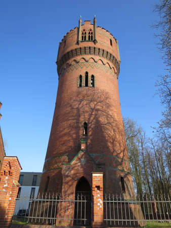 baudenkmal: Water Tower fortification, Wismar