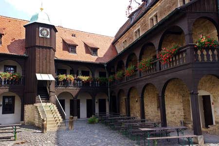 monasteri: Monastero Agostiniano, Erfurt, Turingia, Germania Archivio Fotografico