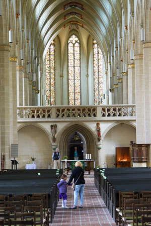 erfurt: Predigerkirche, Erfurt, Thuringia, Germany