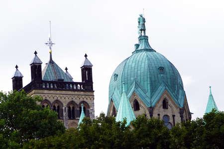 north rhine westphalia: Quirinus Cathedral, Neuss, North Rhine-Westphalia, Germany