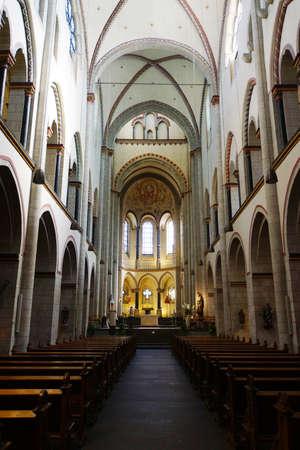 high altar: Quirinus Cathedral, Neuss, North Rhine-Westphalia, Germany