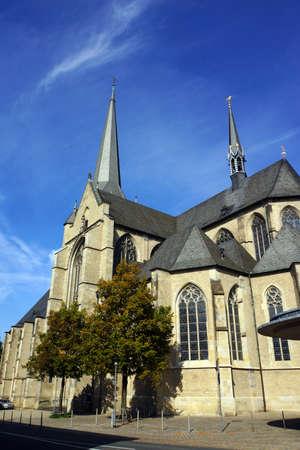 north  rhine westphalia: Willibrordi-Dom, Wesel, Nordrhein-Westfalen, Deutschland Stock Photo