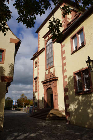 jesuit: former Jesuit church, Aschaffenburg