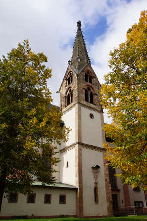 parish: Mother of God Parish, Aschaffenburg Stock Photo