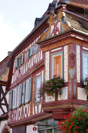 baudenkmal: Einhardhaus - historic half-timbered house in the old town