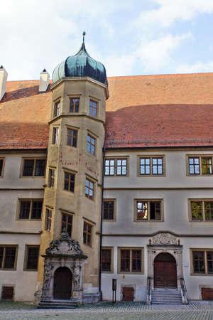 protestant: historic Latin School, now protestant community center