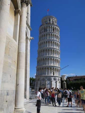 italien: der Schiefe Turm von Pisa, Toskana, Italien