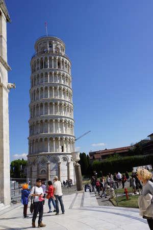 toskana: der Schiefe Turm von Pisa, Toskana, Italien