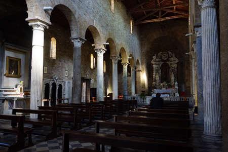 italien: Chiesa di San Sisto in Corteveccia,  Pisa, Toskana, Italien Editorial