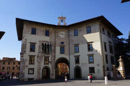italien: Palazzo dei Cavalieri an der Piazza dei Cavalieri, Pisa, Toskana, Italien