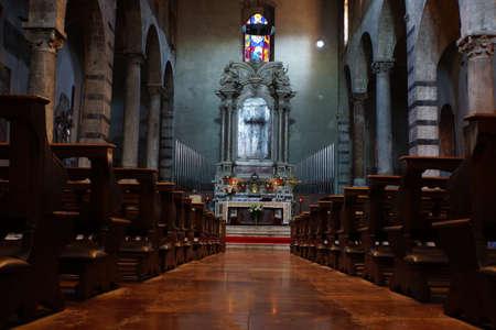 italien: Chiesa di San Michele in Borgo, Pisa, Toskana, Italien