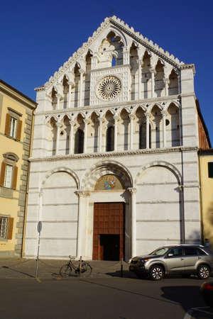 chiesa: Chiesa di Santa Caterina de Alessandria, Pisa, Toskana, Italien Editorial