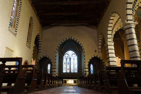 italien: Chiesa di Santa Caterina de Alessandria, Pisa, Toskana, Italien Editorial