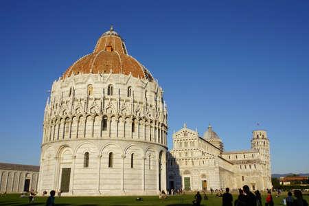 italien: Baptisterium am Dom zu Pisa, Toskana, Italien