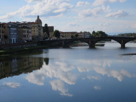 ponte: View from the Ponte Vecchio on the Arno