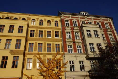 multifamily: Renovated houses in Prenzlauer Berg Editorial