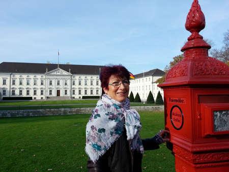 bellevue: historical call point from Schloss Bellevue