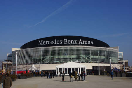 o2: Mercedes-Benz Arena, formerly, O2 World