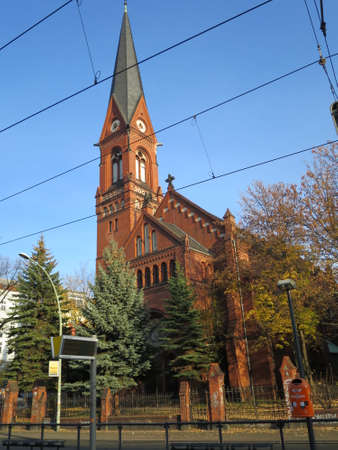 immanuel: Immanuel Church in Prenzlauer Berg