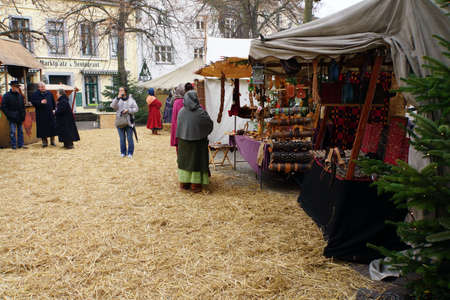 christmas market: Christmas Market in the historic center