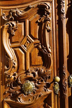doorstep: decorated with carvings doorstep
