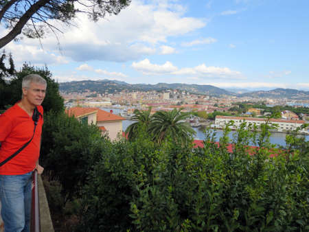 spezia: View of La Spezia, Liguria, Italy Stock Photo