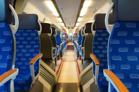 publicly: Talent Train from the British National Express, Neuss, North Rhine-Westphalia, Germany